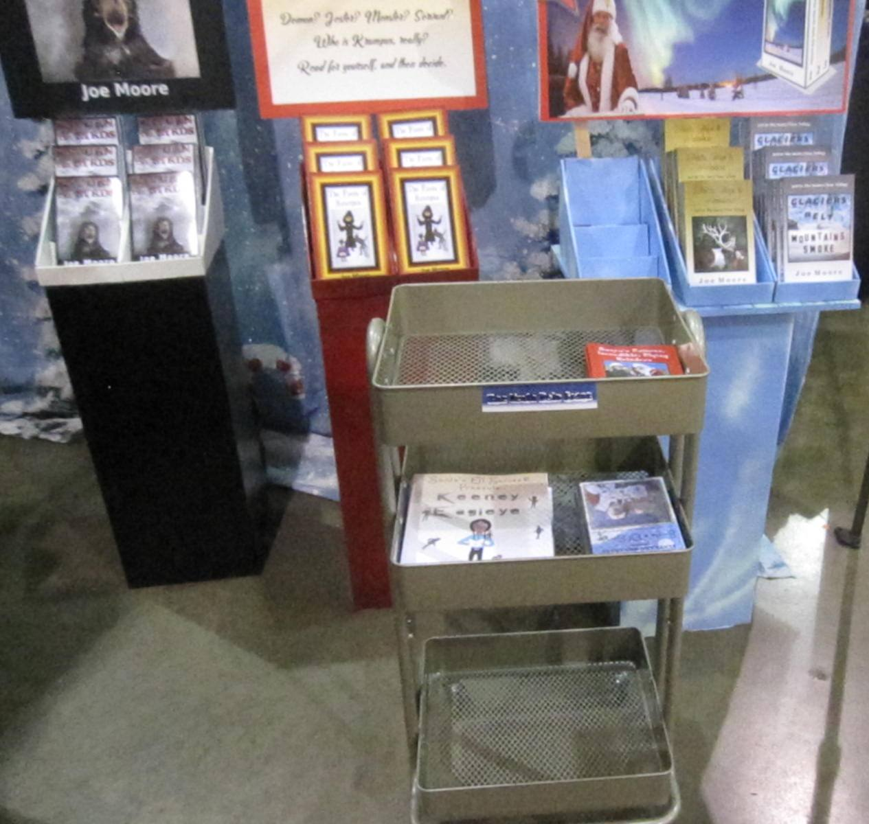 Library Cart End of Show